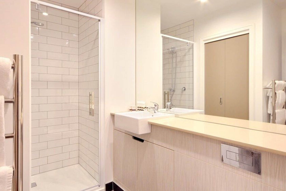 Bathroom - Boulcott Suites Executive 1 Bedroom North Tower