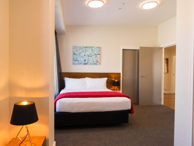 The O'Sullivan Suite for Village Accommodation Group, Wellington NZ.  Photo credit: Stephen A'Court.  COPYRIGHT ©Stephen A'Court