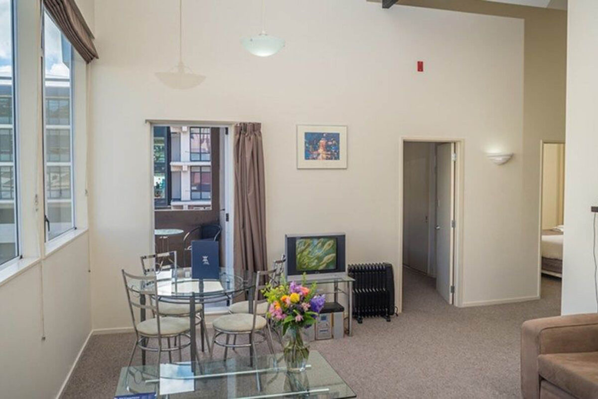 Dining Table - Courtenay Village 2 Bedroom Apartment