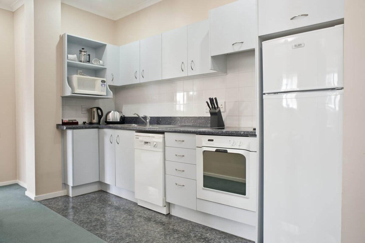 Kitchenette - Aspect One Bedroom Apartment