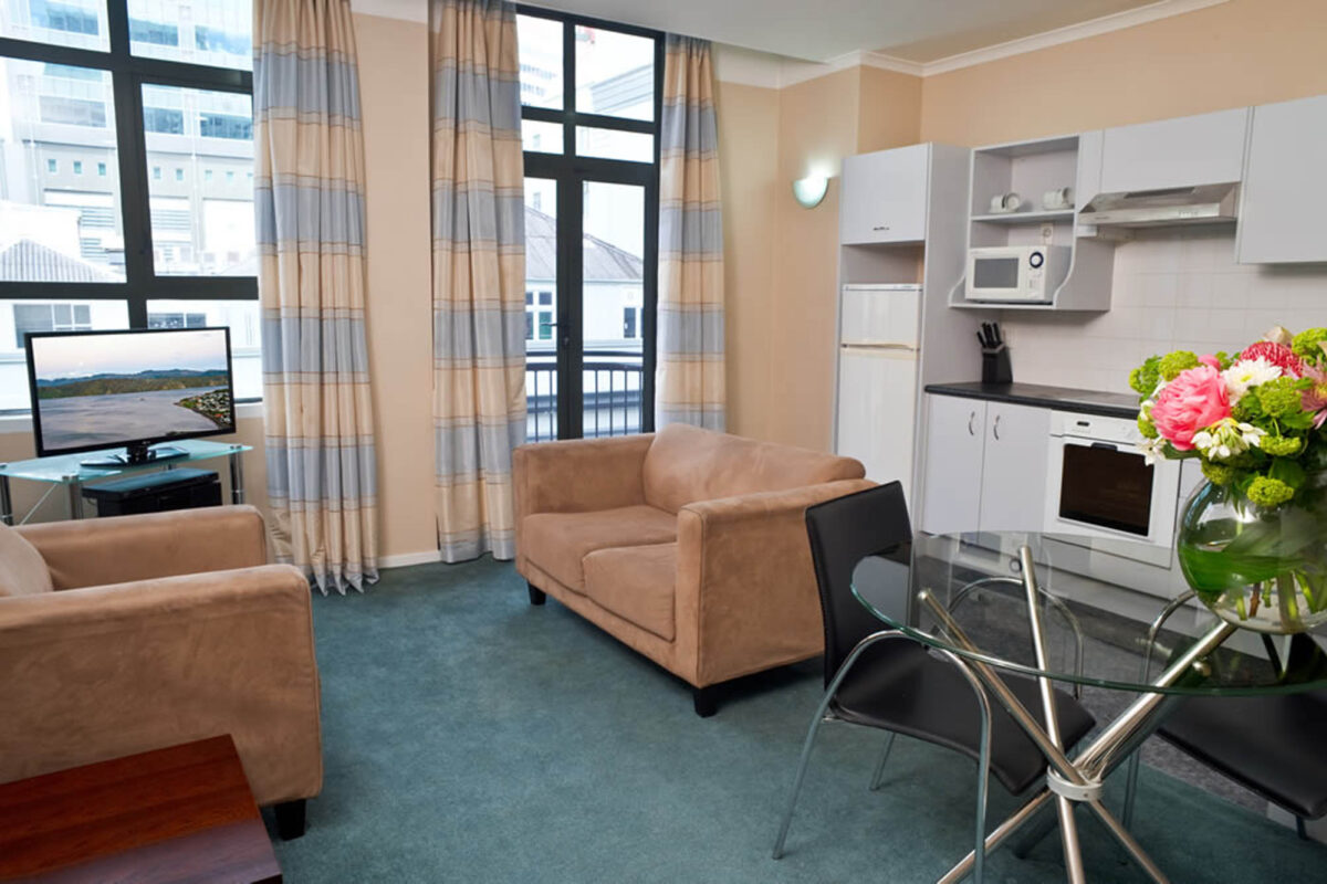 Lounge - Aspect One Bedroom Apartment
