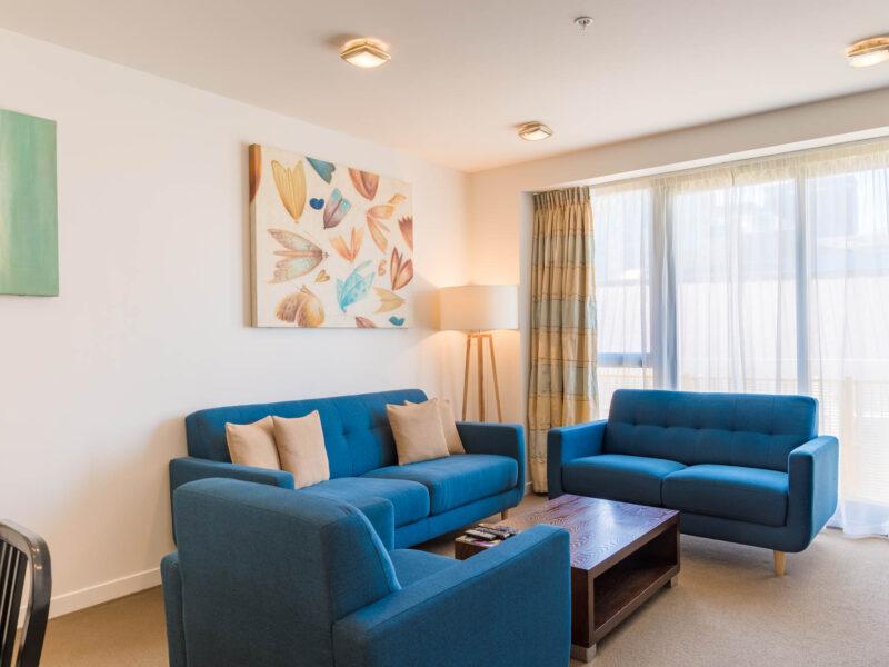 Boulcott Suites apartments for Village Accommodation Group, Wellington, NZ.  Photo credit: Stephen A'Court.  COPYRIGHT ©Stephen A'Court
