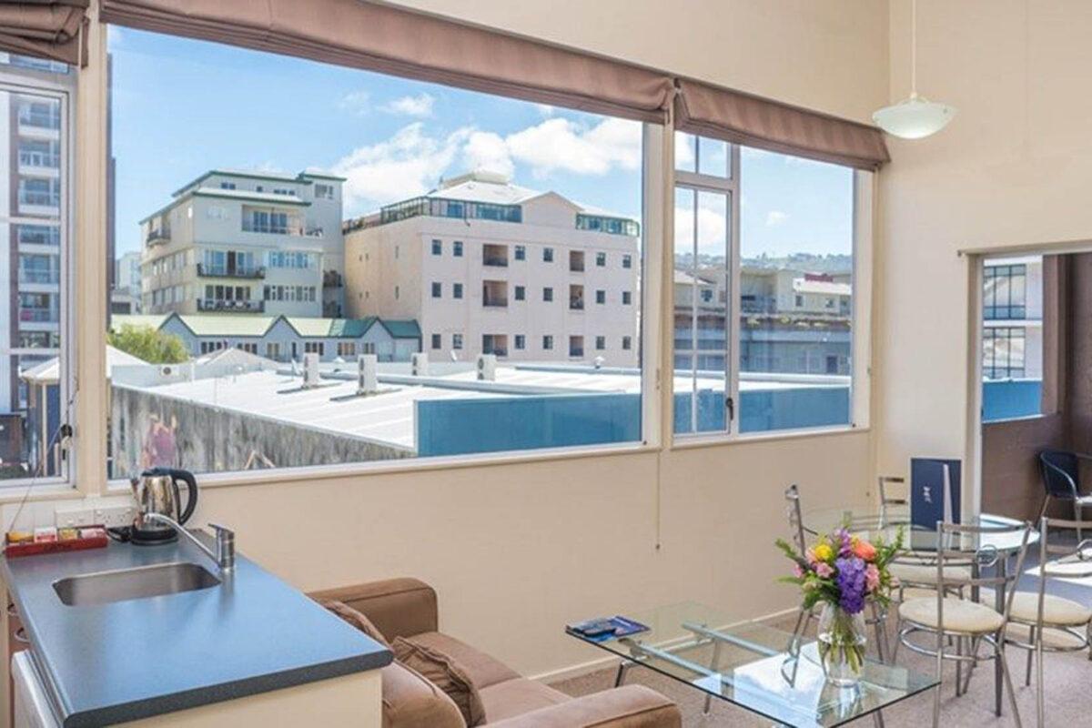 View - Courtenay Village 2 Bedroom Apartment